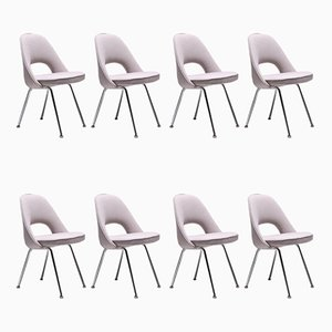 Executive Conference Chairs by Eero Saarinen for Knoll Inc. / Knoll International, 1971, Set of 8