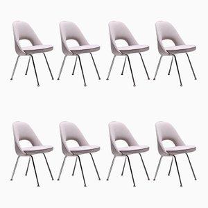 Sillas y sillón de conferencia de Eero Saarinen para Knoll Inc. / Knoll International, 1971. Juego de 8