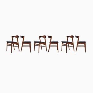 Mid-Century Esszimmerstühle, 6er Set