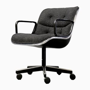 Executive Swivel Chair by Charles Pollock for Knoll Inc., 1980s