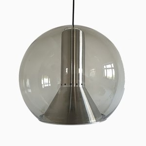 Mid-Century Model B1042.00 Globe Pendant Lamp by Franck Ligtelijn for Raak Amsterdam