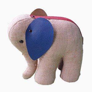 Juguete terapéutico alemán en forma de elefante de Renate Müller para Sonneberg, años 70