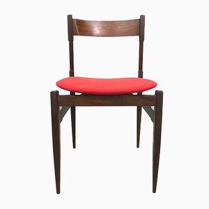 Italian Rosewood Dining Chairs, 1960s, Set of 6