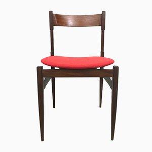 Italienische Esszimmerstühle aus Palisander, 1960er, 6er Set