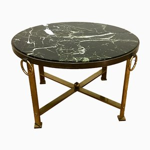 Neoclassical Marble and Bronze Coffee Table, 1960s