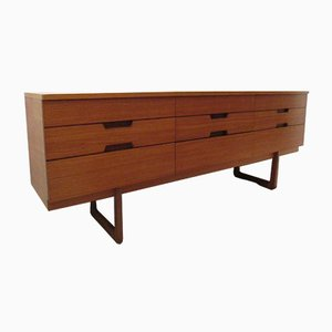 Teak Dresser by Gunther Hoffstead for Uniflex, 1960s