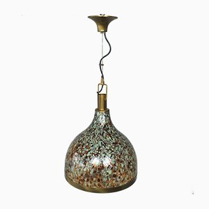 Murano Glass Bell Pendant Lamp, 1960s