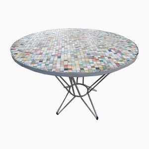 Mid-Century Spanish Multi Coloured Garden Table