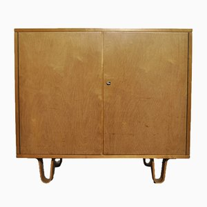 Model CB02 Birch Cabinet by Cees Braakman for Pastoe, 1950s