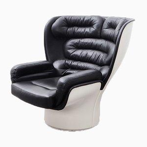 Mid-Century Modell Elda Sessel von Joe Colombo für Comfort Italy
