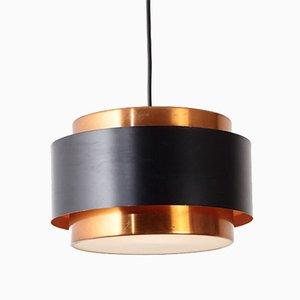 Lampe à Suspension Saturn Mid-Century par Johannes Hammerborg pour Fog & Mørup