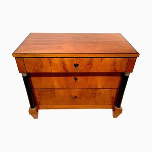 Antike Biedermeier Schreibtischkommode, 1820er