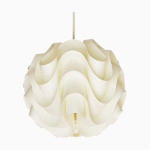 Lampada da soffitto P172 di Poul Christiansen per Le Klint, Danimarca, anni '70