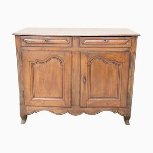 Antique Carved Walnut Sideboard