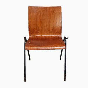 Danish Stacking Chair, 1960s