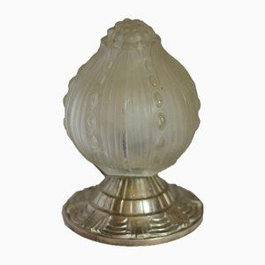 Petite Lampe de Bureau Boule Art Déco, 1920s