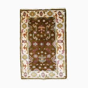 Indischer Vintage Mahal Teppich, 1980er
