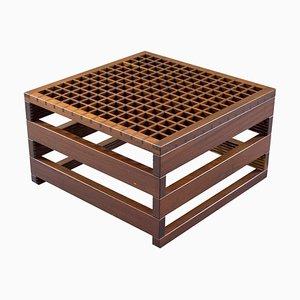 Tavolino da caffè in legno, anni '60