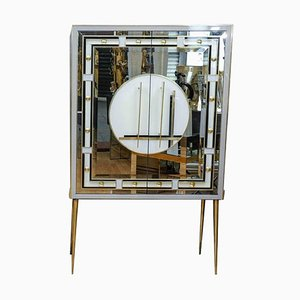 Mirrored Cabinet, 1980s