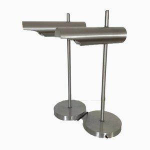 Dutch Table Lamps by Maija Liisa Komulainen for Raak, 1970s, Set of 2