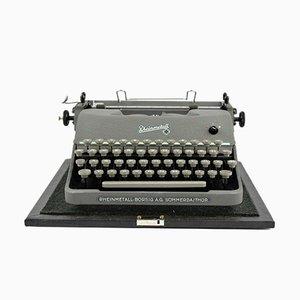 Tragbare Mid-Century Schreibmaschine von Rheinmetall Borsig AG