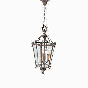 Lanterne Hexagonale Style Louis XVI, France, années 50