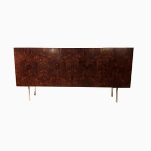 Brazilian Rosewood and Steel Sideboard from WK Möbel, 1970s