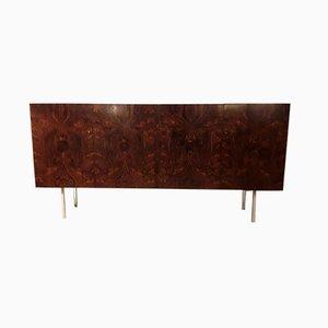 Sideboard aus brasilianischem Palisander & Stahl von WK Möbel, 1970er