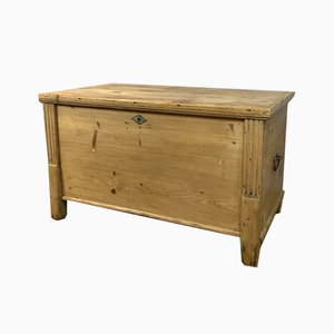 Antique English Pine Blanket Box