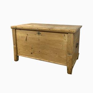 Scatola antica in legno di pino, Regno Unito