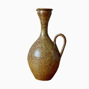 Pyrite Vase aus Sandstein, 1960er
