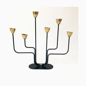 Kerzenständer von Gunnar Ander für Ystad-Metall, 1950er