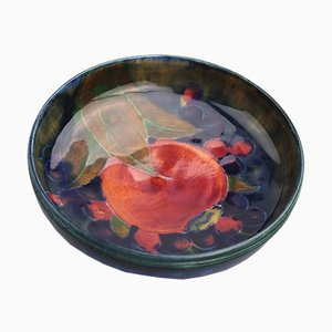 Antique Pomegranate Dish by William Moorcroft for Moorcroft