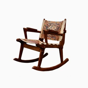 Rocking Chair by Angel I. Pazmino, 1960s