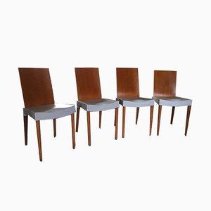 Italienische Esszimmerstühle von Philippe Starck für Kartell, 1990er, 4er Set