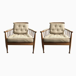 Skrindan 840 Armchairs by Kerstin Hörlin-Holmquist for OPE, 1967, Set of 2