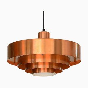 Danish Roulet Pendant Lamp by Johannes Hammerborg for Fog & Mørup, 1960s