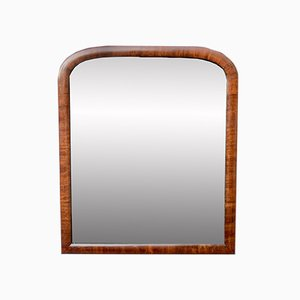 Mahogany-Framed Wall Mirror, 1930s
