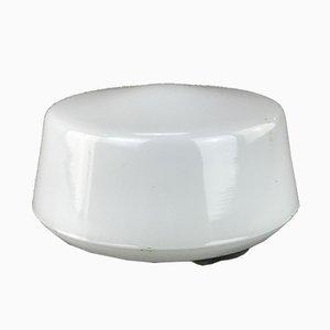 Lampada da soffitto ad incasso Mid-Century bianca