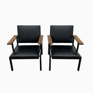 Armchairs by Gijs van der Sluis for Gispen, 1960s, Set of 2