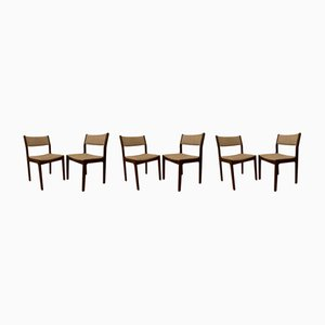 Mid-Century Rosewood Dining Chairs by Erik Buch for Findahl's Mobelfabrik, Set of 6