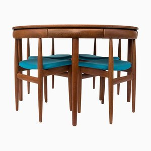 Mid-Century Dining Table & Chairs Set by Hans Olsen