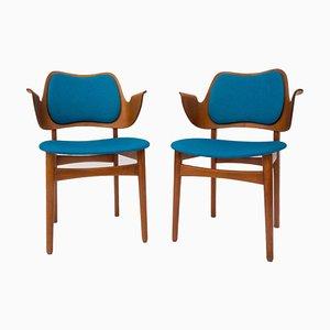 Beech Armchair by Hans Olsen, 1960s