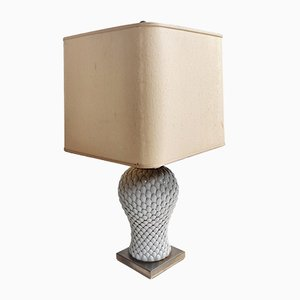 Italian Ceramic Table Lamp, 1970s