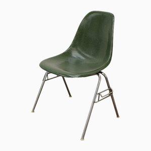 Chaise de Salle à Manger en Fibre de Verre par Charles & Ray Eames pour Herman Miller, années 60