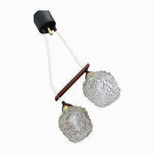 French Ceiling Lamp from Arlus, 1960s