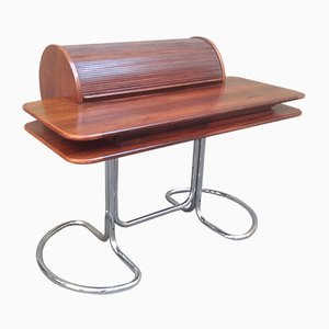 Rosewood Maya Desk by Giotto Stoppino for Bernini, 1960s