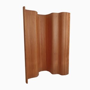 Pine Tambour Room Divider from Habitat, 1980s