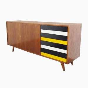 Wooden Sideboard by George Jiroutek for Interior Prague, 1960s