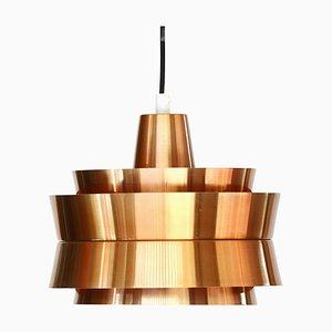 Lampada da soffitto Superlight in alluminio di Superlight, Danimarca, anni '70